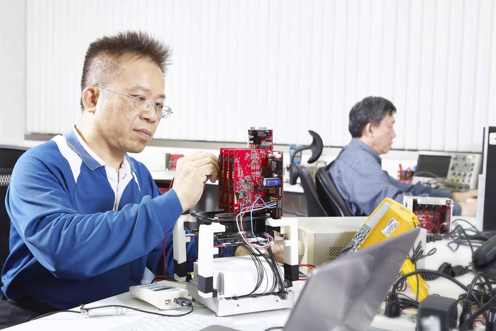 Electronic Design Prototype Testing